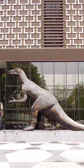 Rencontre avec un dinosaure !