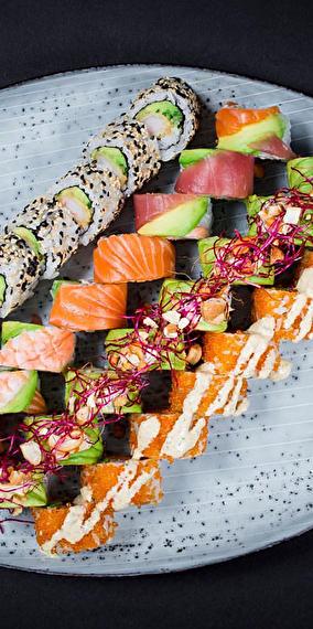 Moi j'adoreeeeeeuh les sushis