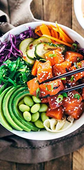 Fresh, healthy and tasty