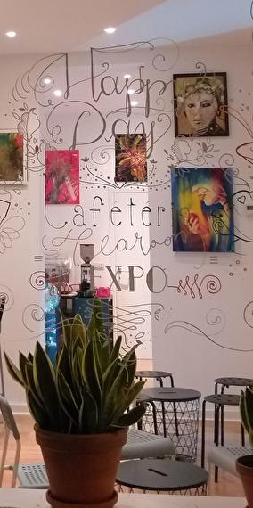 Café artistique !