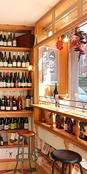 Le bar à vins nature