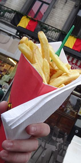 In the country of fries!