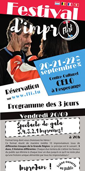 FLIRT - Festival Luxembourgeois d'Improvisation Richement Théâtrale (LU)