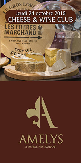 Cheese & wine club, pour les amateurs de fromage