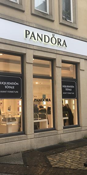 Magasin Pandora - Liquidation ... La totale