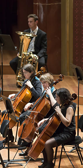 «Orchestre Philharmonique du Luxembourg at home» | Pink Panther