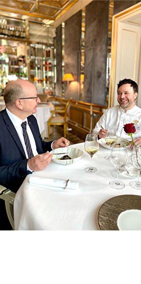 A starred dinner - La Cristallerie