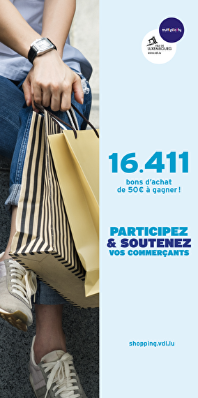Your chance to win one of 16,411 €50 vouchers!