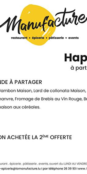 Happy Hours - La Manufacture