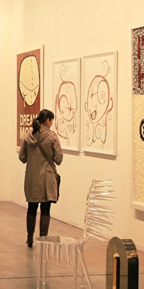 """""""Responding to barbarism with salutes of beauty"""" exhibition of works by Jean Lamborelle"""
