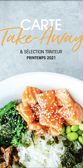 Carte Take Away & Sélection Traiteur - Printemps 2021