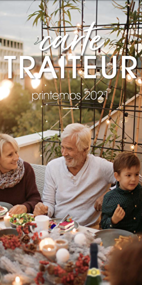 Carte Traiteur - Printemps 2021