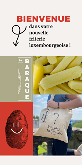La Baraque invites you to it's opening!