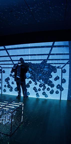 Inauguration loop & cube - anthropocean