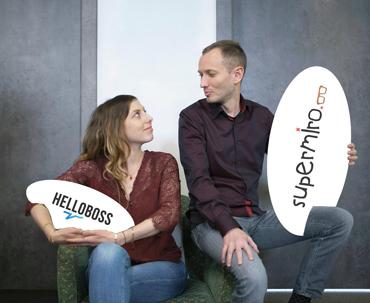 Et un beau jour, Helloboss est né...
