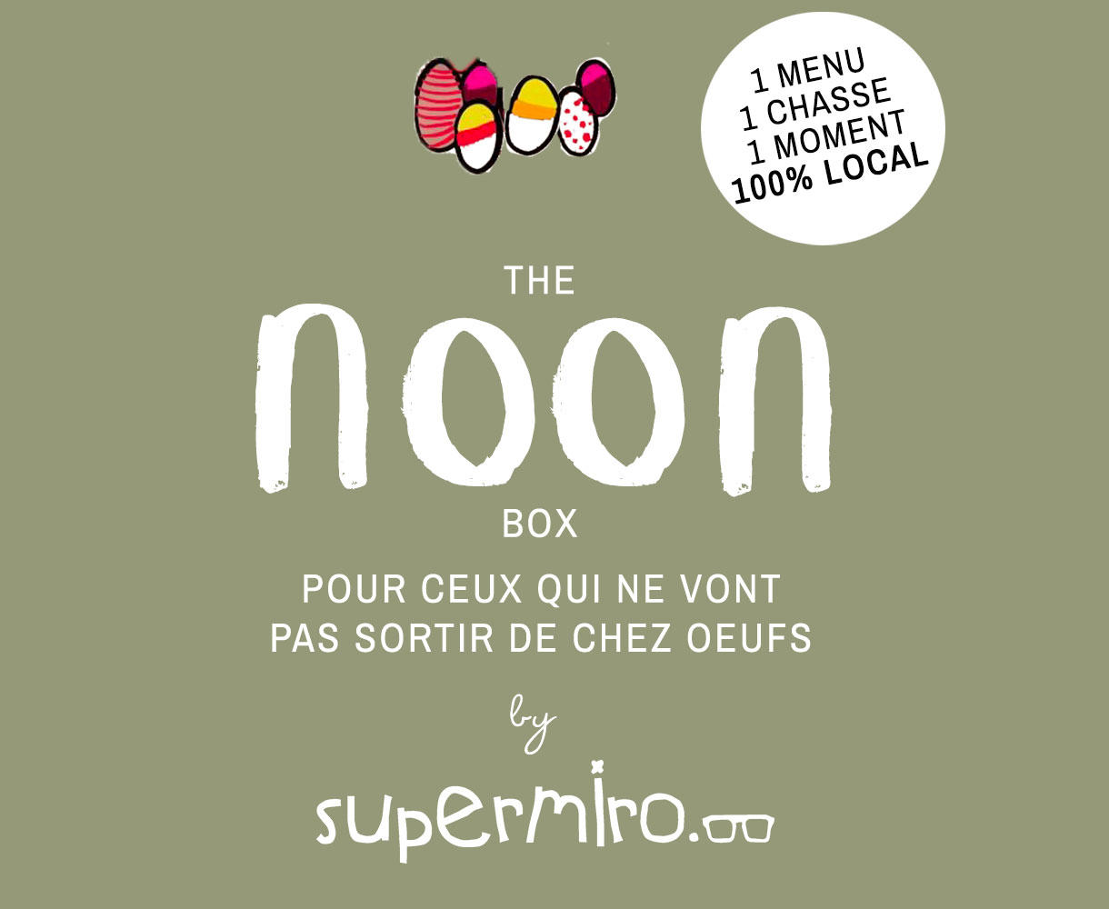 NOON : la Box expérience de Supermiro pour Pâques